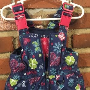 rugged bear Jackets & Coats - Girls Snow Bib snowsuit sz 12 m